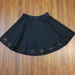 Dresses & Skirts - Sexy Black Flare Skirt